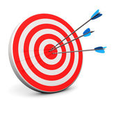 Red Target — Stock Photo