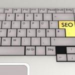 Keyboard SEO — Stock Photo