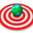 Earth Target — Stock Photo