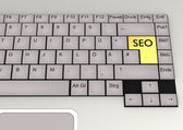 Keyboard SEO — Stock Photo
