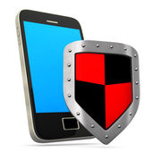 Smartphone Shield — Foto de Stock
