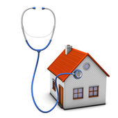 Stethoscope House — Stock Photo