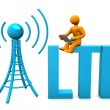 Stock Photo: LTE Manikin