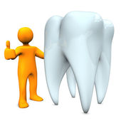 Health Tooth — Stock Photo