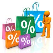 Manequin Discount — Stock Photo