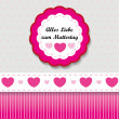 Mother's Day Label — Stock Vector