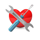Heart Repair — Stock Photo