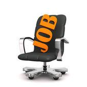 Swivel Armchair Job — Stock Photo