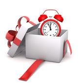 Red Alarmer Gift — Stock Photo