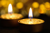 Candles holiday — Stock Photo