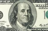 De dollars closeup — Photo