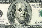 Dollars closeup — Foto Stock