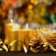 Christmas objects of decoration — Stock Photo #13186994