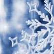 Big snowflake blue toned — Stock Photo #13187078