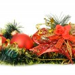 Christmas decoration of objects — Stock Photo #14207970