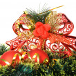 Stock Photo: Christmas decoration of objects