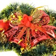 Christmas decoration of objects — Stock Photo #14208084