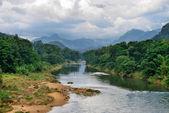 Rzeka tropikalny — Zdjęcie stockowe