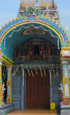 The entrance to the Hindu temple — Stock Photo