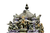 Detail Hindu temple isolated — Stock Photo
