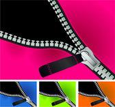 Vector zipper. — Stock Vector