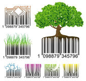 Barcode. — Vector de stock