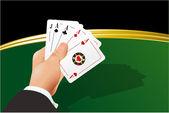 Casino abstract. — Stock Vector