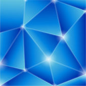 Blue edged vector background. — Stock Vector