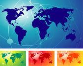 World map. — Stock Vector