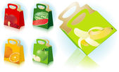 Gift and shopping bags. — Vector de stock