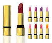 Lipstick. — Stock Vector