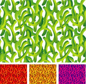 Organic Green. — Vettoriale Stock