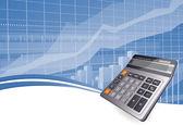 Business calculator. — Stock Vector
