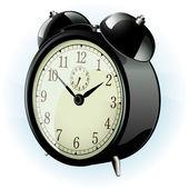 Classic alarm clock. — Stock Vector