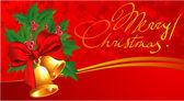Christmas bells. — Stock Vector