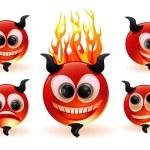 Funny devils. — Stock Vector #45150009