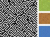 Seamless maze. — Stock Vector