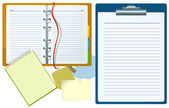 Office-documenten. — Stockvector
