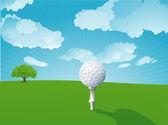 Golf. Vector. — Vector de stock