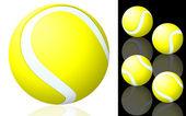 Pelota de tenis. — Vector de stock