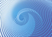 Modrý abstrakt. — Stock vektor