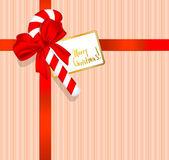 рождественский подарок. — Cтоковый вектор