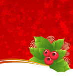 Christmas background. — Vector de stock