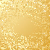 Gold star background. — Stock Vector