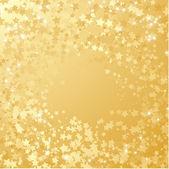 Gold star background. — Vector de stock