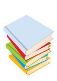 The books — Stock Vector
