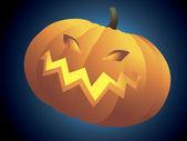 Halloween pumpkin. — Stock Vector