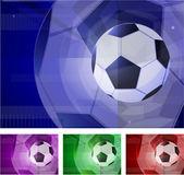 Football abstract. — Stock Vector