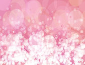 Pink sparkles vector background. — Stock Vector