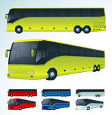 Tourist bus. — Stock Vector